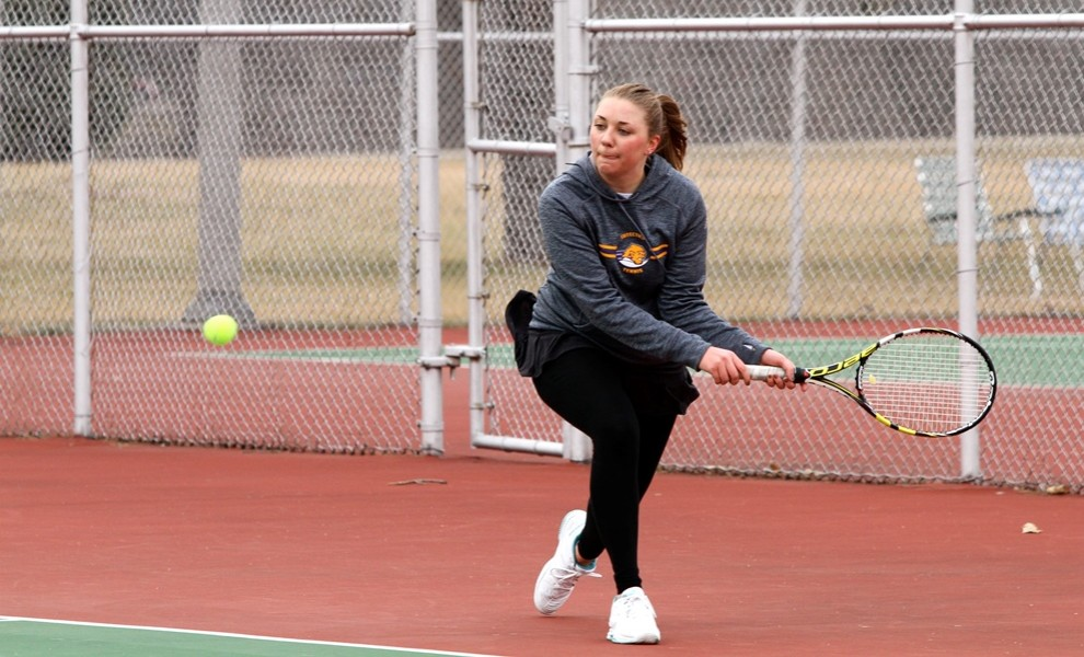 Jenna Smith had singles and doubles wins over Fontbonne on Friday, and forced a third set at No. 4 singles versus Missouri Ba