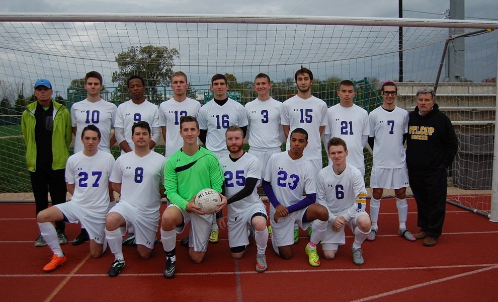 STLCOP men's soccer team