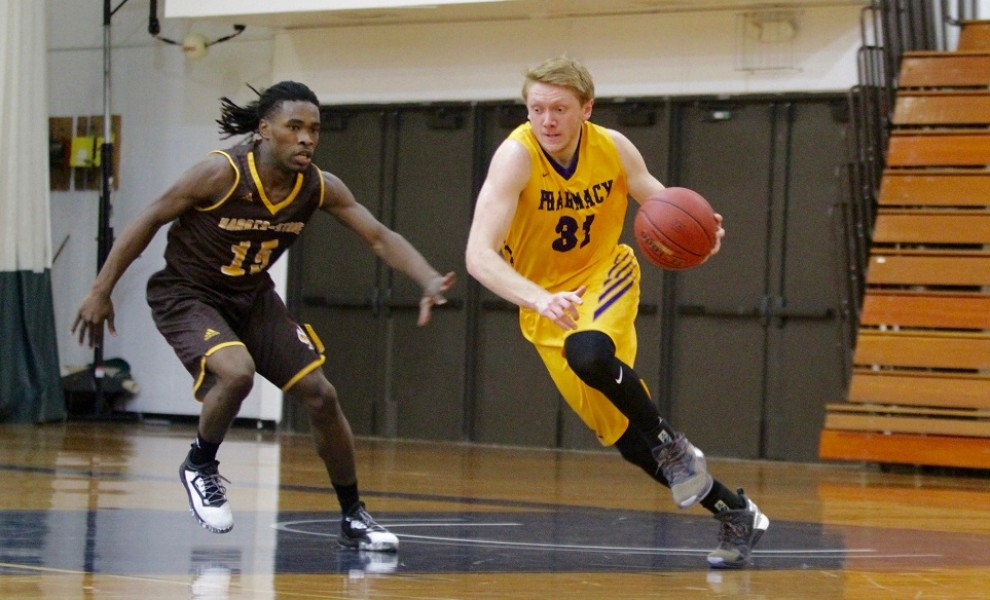 Colton Frazer scored 25 points against FHU. Photo by Kathy Arnold.