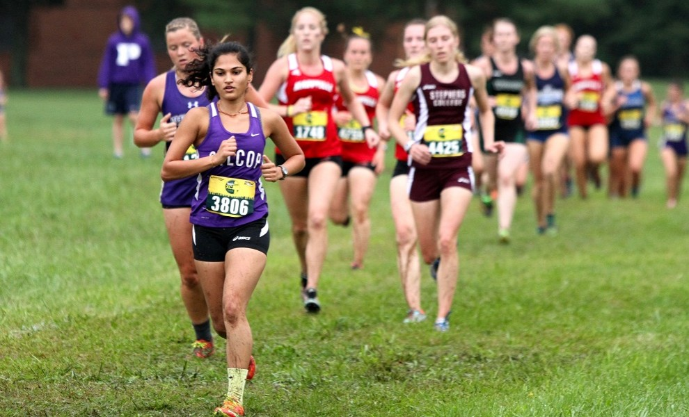 Patel raced in her first national championship race this morning. Photo by Kathy Arnold.