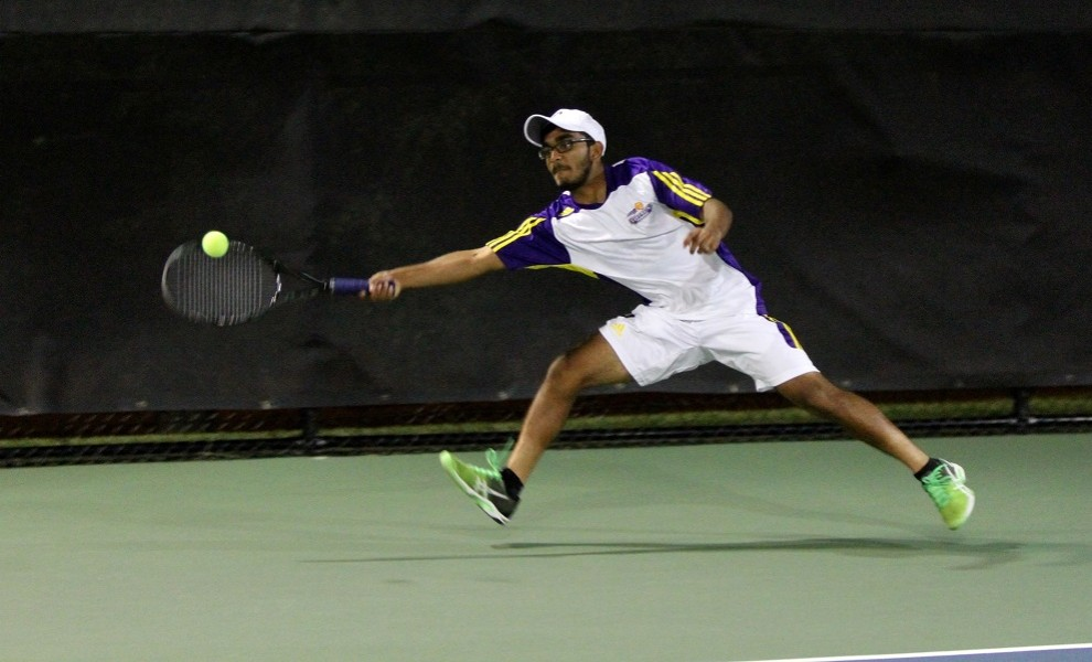 Rahul Jilakara and partner Luke Winchester are now 7-1 at No. 1 doubles. Photo by Kathy Arnold.