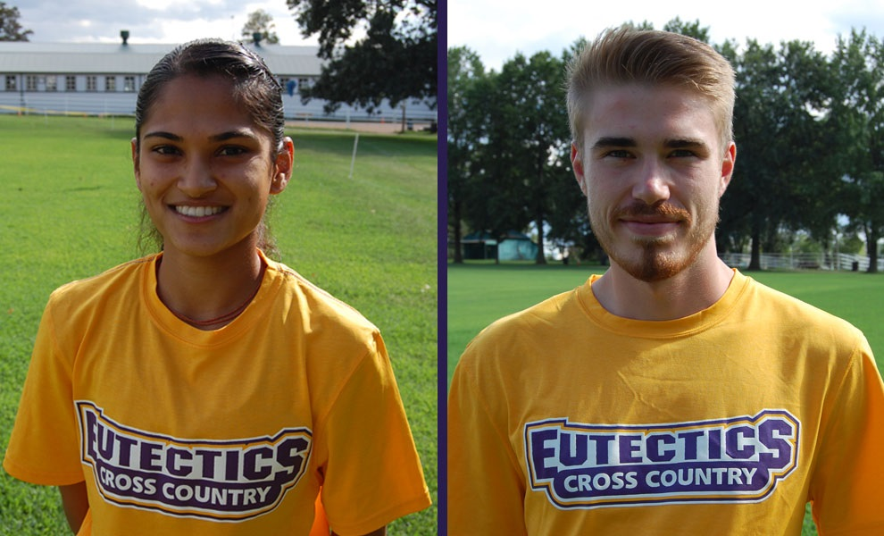 Photo for Patel and Affolder Named NAIA Track and Field Scholar-Athletes