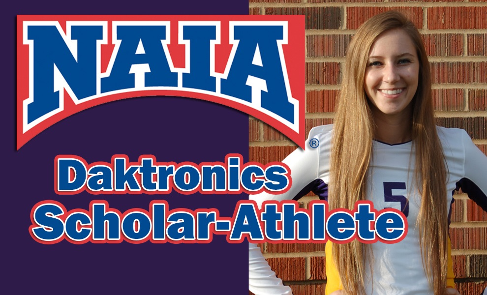 Photo for Toler Named Daktronics-NAIA Scholar-Athlete