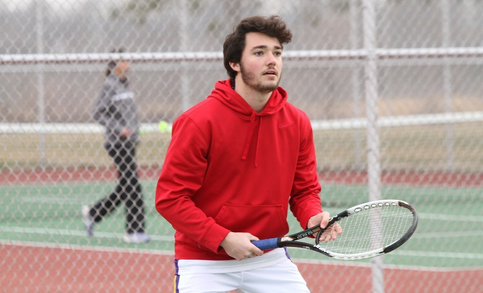 Luke Winchester had wins at singles and doubles against the IC Blueboys.