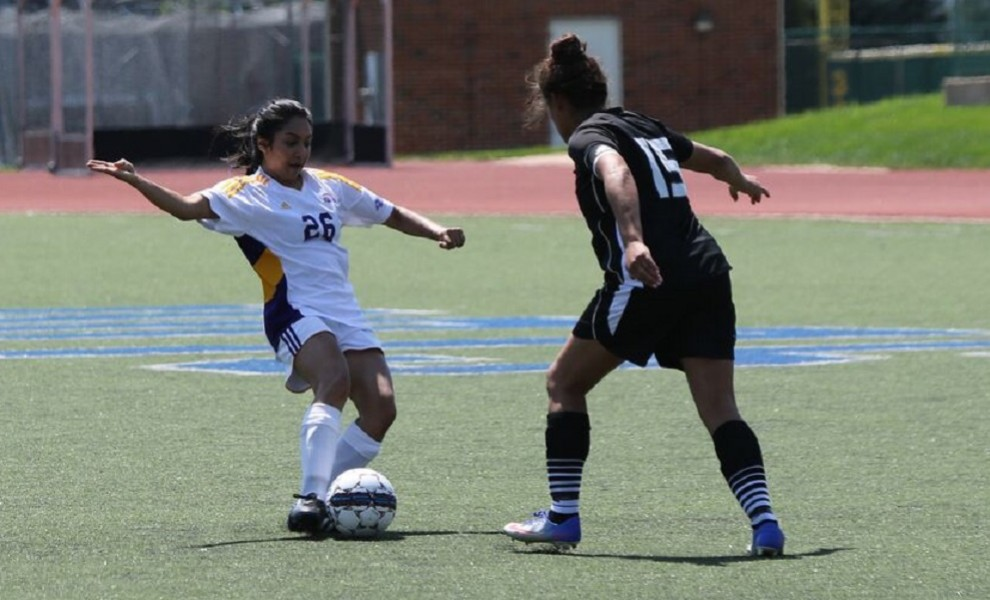 Christina Arackal scored the Eutectics' only goal against the Scots. Photo by Kathy Arnold.