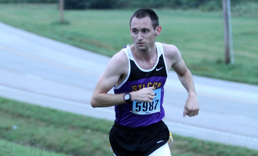 Casey Moore is running in his final season as a Eutectic. Photo by Kathy Arnold.
