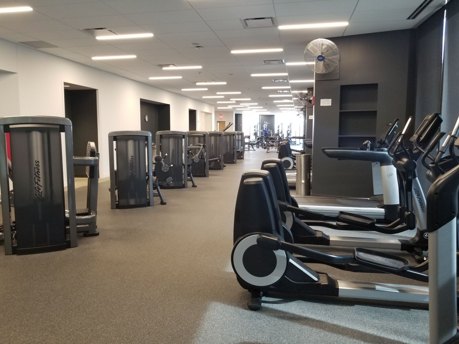 Eutrec fitness center recreation gym and running track st