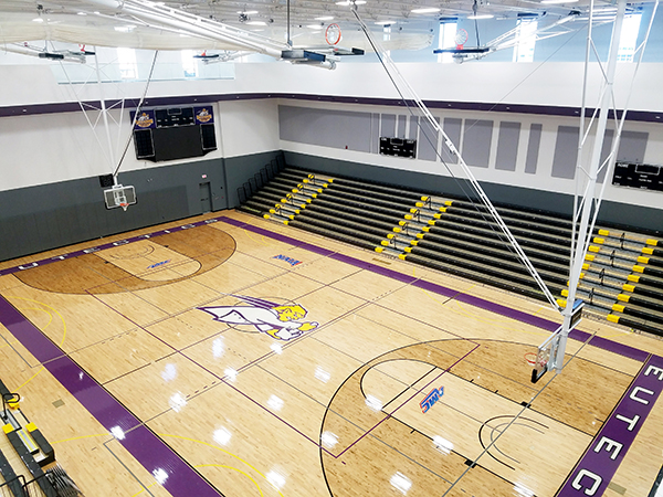 Uhsp Gymnasium Volleyball Basketball University Of Health Sciences And Pharmacy In St Louis Athletics
